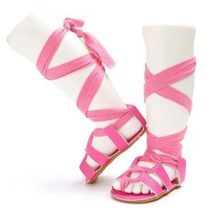 Baby Coundy Type House Sandals Toddler Girls Walkers Мода Летний пляж Sandal 11/12 / 13см