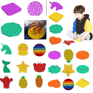 Factory price hair federal push bubble toys pop it autism special needs stress relieving toys help relieve stress improve concentration soft