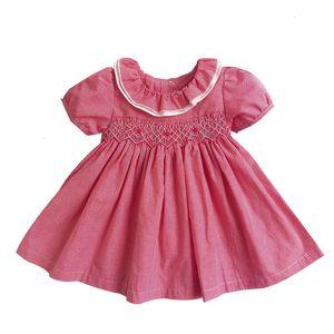 2020 Summer Baby Girls Spanish Dress Newborn Baby Toddler Clothes Infant Party Wedding Flower Dresses for Girl Vestido Infantil Q1223