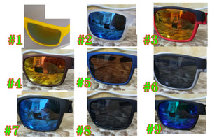 Brand Estate Uomini Bicycle Glass Guidare Occhiali da sole Occhiali da ciclismo Donne e uomo Bel Glasses Guida Beach Goggles 9Colors Spedizione gratuita