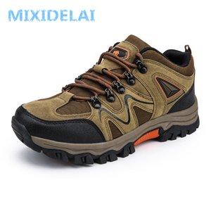 MIXIDELAI 2020 Yeni Marka Bahar Moda Açık Havalı Sneakers Nefes erkek Ayakkabı Erkek Savaş Çöl Rahat Ayakkabılar Artı Boyutu 36-47 C0309
