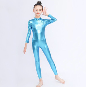 Custom made Big Kids Leotard High Elastic Lacing Bodysuit ballet Dance Uniform barbie glue stretch one-piece A5861