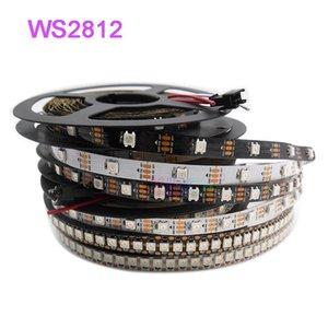WS2812B Smart LED Strip DC5V 1M / 2M / 5m 30/60/74/96/100/144 Pixels / LEDs / M LED Tape Lâmpada WS2812 IC WS2812B / M IP30 / IP65 / IP67