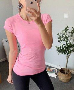 lu woman yoga shirt new 2.0 womens short sleeve T-shirt seamless lu swiftly tech top sports breathable suit 2020 G5XU#