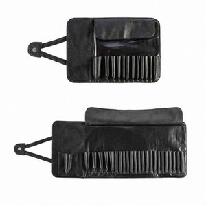 12 24 Slot Unisex Foldable Makeup Brush Holder Cosmetic Organizer Rolling Bag Case Storage Container Pouch Bags I7wJ#