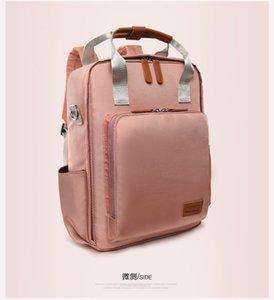 Women's Backpack 2019 New Versatile Handbag Large Capacity Fashion Multifunctional Portable Mother and Baby Bag JX0M