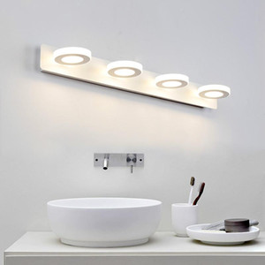 Modern Bathroom LED Mirror Light Desk dresser Bedside lamp sconce Wall Lamps lampada de led wholesale cabinet Mirror front lamps