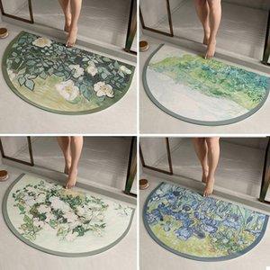 Carpets Protective Floor Mat Door Waterproof Doormat Antiskid Mats Anime Carpet Modern Home Decor Grounding Funny Bath