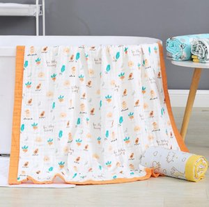 Muslin Soft Swaddle Blankets, Muslin Quilt Baby Blanket for Boy Girl Toddler Daycare, 6 Layers Swaddle Wrap