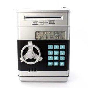 Boîte de mot de passe électronique Boîte d'argent Boîte d'argent Sauvegarde Banque ATM Coffre Coffre Cadeau de billets de billets de papier auto pour enfants à économiser de l'argent1 57 S2