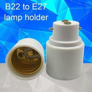 1 PZ B22 a E27 Portalampada Portalampada a vite convertitore convertitore B22 a LED LIGHT E P4P5 Materiale a prova di fuoco Base Bulb Holder AD M8G4