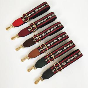 Belt Bags Strap Accessories for Women Nylon 7 Styles Lady Vintage Bag Accessories Adjustable Handbag Straps Decorative Chain Bag Gift