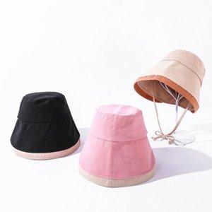Sun Bucket Hat for Women Cotton Hats Teens Girls Wide Brim Floppy Summer Beach Fisherman's Caps