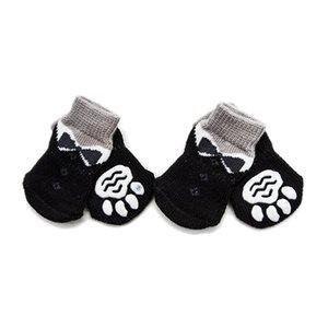 4 шт. / Лот зима теплые домашние собаки носки мода противоскользящие собаки сапоги для маленького щенка и большой собаки 27 S2