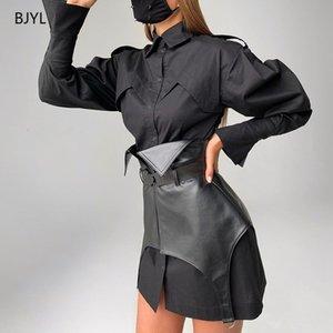 2021 Мода Новый спортивный пояс PU пояса резиновый корсет для женщин 22523P FLQL