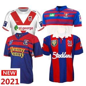 2021 Knights 럭비 폴로 저지 남성 럭비 유니폼 크기 : S-5XL