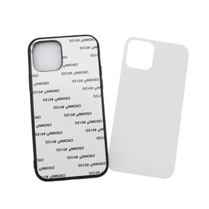 Blank 2D Sublimation Case TPU+PC Heat Transfer Phone Cases Cover for iPhone 12 mini 12 11 Pro MAX XS XR XS MAX