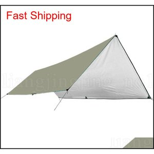 Waterproof Camping Mat 3*4m Mattress Outdoor Tent Cloth Multifunction Awning Tarps Canopy Picnic Mat Grou CaH sports2010