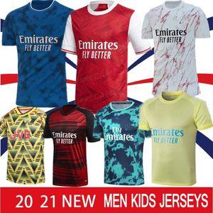 Pepe Gunner 20 21 22 Arsen 4th Soccer Jerseys Saka Thomas Sokratis Willian Nicolas Tierney Men Bambini Fourthumrace Tailandia