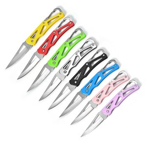 Portable multifunctional folding knife outdoor Knives multi-function mini with key button EDC gadget HW153