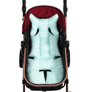 Stroller Parts & Accessories Baby Print Pad Seat Warm Cushion Mattresses Pillow Cover Child Carriage Cart Thicken Trolley Chair