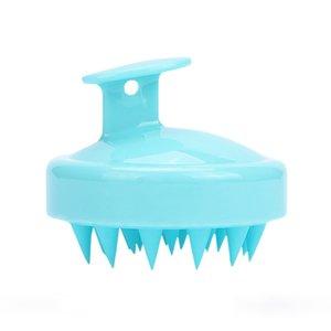 Soft Silicone Shampoo Brush Hair Salon Home Massage Shampoo Comb Clean The Scalp Bath Brush CCD5235