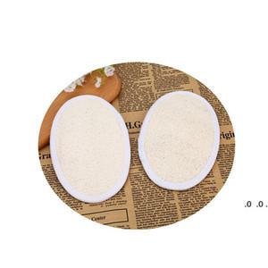 LOOFAH الطبيعي لإزالة منشفة بشرة البشرة الميتة منشفة باث باث الكرة اللوف الغسيل المنزل أو حمام أسود الإسفنج FWA3374