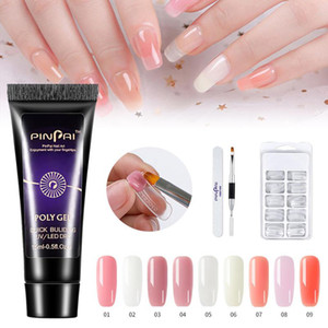 Poligel Nail Kit Crystal Forms For Extension Nail Tools Sets 15ml Nail Extension Gel Fast-drying Model Extension Glue Set TSLM1