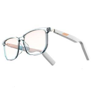 Smart Glasses intelligente Android Bluetooth 5.0 Ai Eyewear TWS Fones de ouvido sem fio Música Anti-azul Lente Polarizada Óculos de Sol