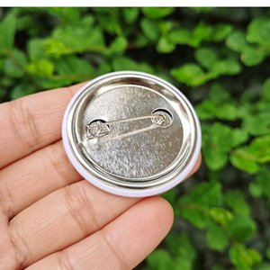 NEW1.4inch 44mm I GOT Vaccinated Pinback Buttons Badge Flu Vaccination Recipient Pin Button Medal Bag Clothing Decoration EWD7552