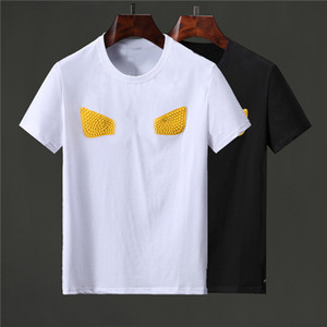 Casual Mens Designers T Shirt Polos Men Women Letter Print Short Sleeve Fashion Mens Stylist Casual Round Neck Tees Size M-XXL