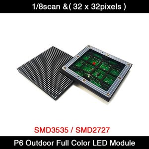 20pcs lot P6 Outdoor LED Display Module 192x192mm SMD Full Color RGB Advertising Wall LED Matrix TV Sign 1 8Scan