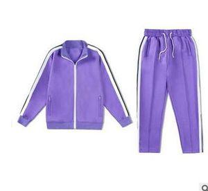 2021 New Arrival Palm Printed Designer Tracksuits Men Women Spring Autumn Tracksuit Yoga Jackets Jogger Sports Angels Suit Long Pant