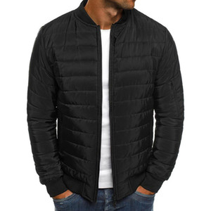Mens Winter ZOGGA Coats 6 Colors Plus Size S-3XL Fashion Autumn Puffer Jacket Coat Cotton-padded Warm Clothes Men CR2P