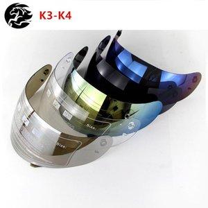 Motorcycle Helmets Helmet Anti-Scratched Visor Lens Anti-Uv400 Casco Moto Capacete Motor Visors K4 Len Windshield