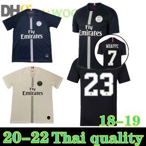 Fan version S-XXL 18 19 Paris Soccer Jersey MBAPPE DI MARIA VERRATTI Custom Home Away Third Men Football Shirt