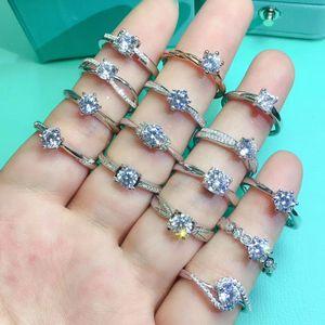 Mosanch Diamond Women's Rings's Rings Live مغلق استوديو رابط خاص لقطة خاصة غير صالحة لا التسليم