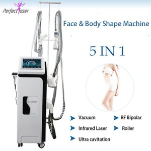 Vacuum Roller Cellulite Machine Therapy Therapy Therapy Butt Corps Shape Corps Minceur Rouleau à vide RF Traitement anti-cellulite RF