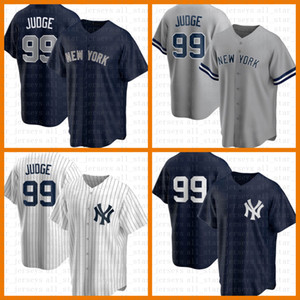 New Custom York Uomo Baseball Jersey Yankee 99 Aaron Judge Derek Jeter Gerrit Cole DJ Lemahieu Gleyber Torres Don Mattingly Mariano Rivera