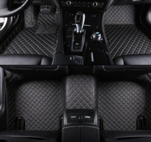 Custom Car Floor Mats for BMW 5 E28 E34 E39 E60 E61 F07 F10 F11 F18 G30 G31 G38 car accessories styling