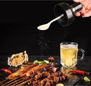 Salt Shiker Spice Bottle Bottle Организатор 250 мл Приправа можно с ложкой Кухня Приправа Нефтяной Контейнер Главная Паприка Ящик для хранения HWC6014