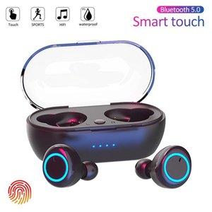 Y50 TWS Bluetooth Earphone 5.0 Wireless Headset IPX7 Waterproof Deep Bass Earbuds True Wireless Stereo Headphone Sport Earphones
