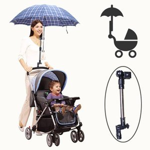 Stroller Parts & Accessories Stainless Steel Umbrella Stands Rotatable Bicycle Holder Adjustable Wheelchair Prams
