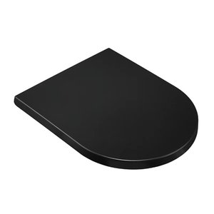 Universal Adult Kids Toilet Seat Child Potty Training Cover Prevent Falling Lid For bathroom fixtures Home Slow-close building supplies material black thin