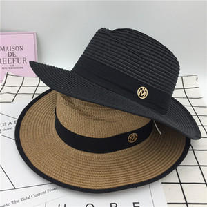 2021 Fashion Spring and Summer New Small Pepper Straw Hat Seaside Leisure Vacation Hat Sun Protection Sun Hat All-Matching Sun