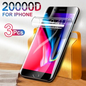 20000D Hydrogel Protective film on for iPhone 8 7 6s Plus Screen Protector iPhone SE X Xr Xs 12 11 Pro Max Screen protector film
