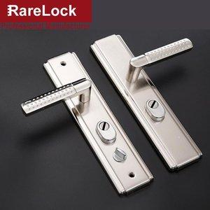 Handles & Pulls Door Handle Set For Bedroom Living Room Bathrrom Without Cylinder Home Security Hardware MS532 Rarelock H1