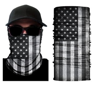 bandanas flag pattern bandanas various patterns Tubular Bandanas American polyester flag shields mask outdoor activity used