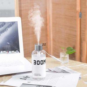 USB Household Car Bottle Shaped Humidifier 300ML Portable Mini Mist Maker Air Humidifiers Essential Oil Diffuser HWF10461