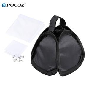 PULUZ 23x23cm Portable Foldable Flash Lightsphere Universal Softboxes for Perfect Camera Photograph Uniform Exposure PVC, Nylon